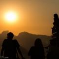 Assistindo o Pôr do Sol
