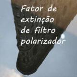 Fator de extinção de filtro polarizador e revestimento